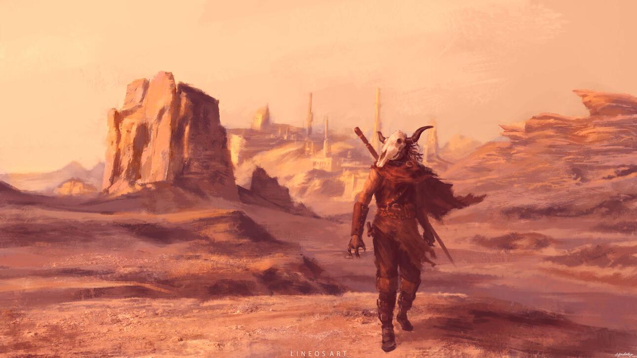 Lineos Fantasy Art Illustration Commissions